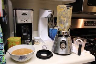 Blended Lentil Soup